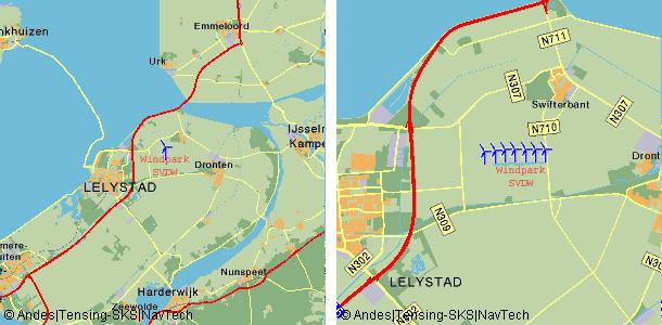 Windpark Samen voor de Wind ligt aan de Overijsselse tocht nabij Swifterbant in de Gemeente Dronten enlevert stroom aan Greenchoice.