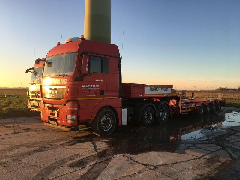 14 februari 2019; start ontmanteling tweede windmolen