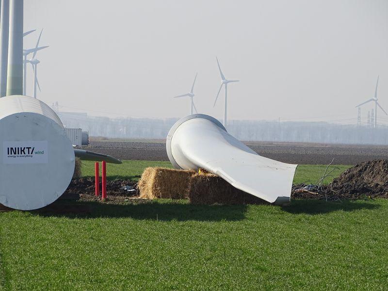 16 februari 2019; windmolen 1 transport klaar