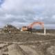 11 maart 2019; sloop funderingen windmolen 2 en 3