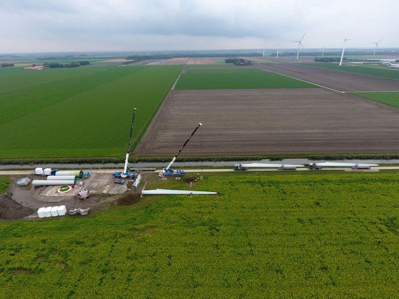 18 oktober 2019; windmolen opstelplaats 6